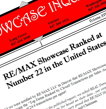 REMAX Showcase ranked number 22 in US