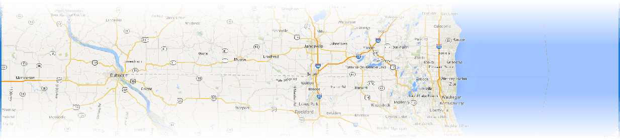 Northern Illinois & Southeastern Wisconsin REMAX Showcase map image